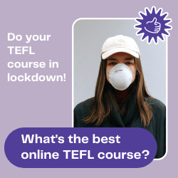 online TEFL course ad