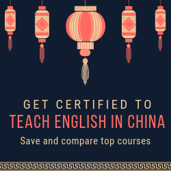 TEFL courses for China
