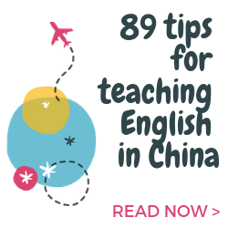 Tips for teaching English in China