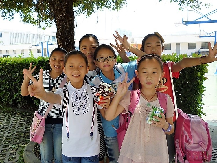 Teaching primary school kids can earn you a good salary in China