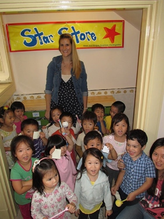 Nicole shares her experience of teaching English in China.