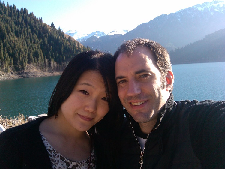 While teaching English in Sichuan teacher Tim met his wife.