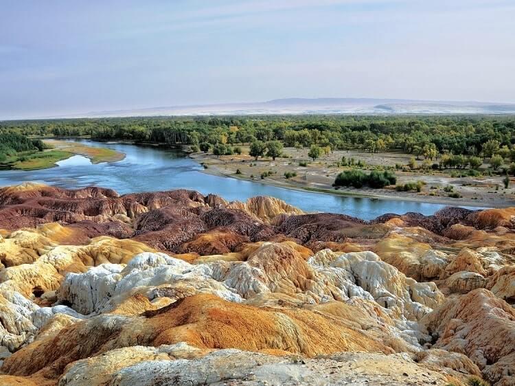 Beautiful Xinjiang landscape