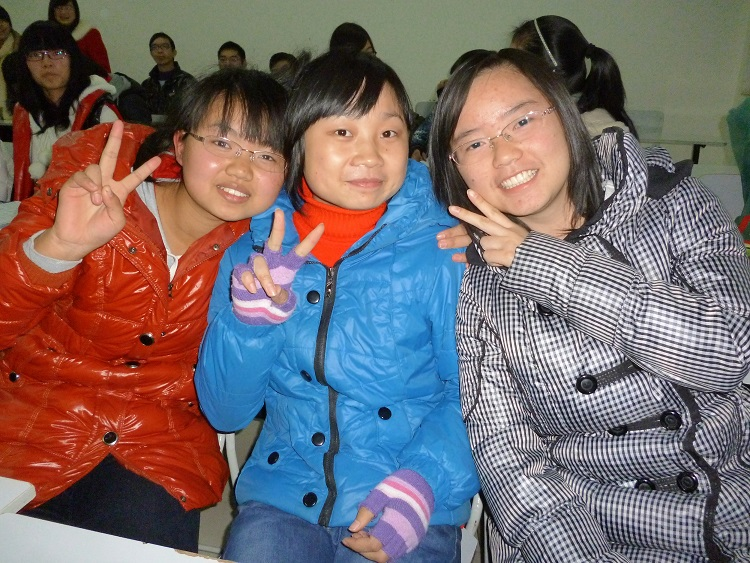 Female students in Yichang China.