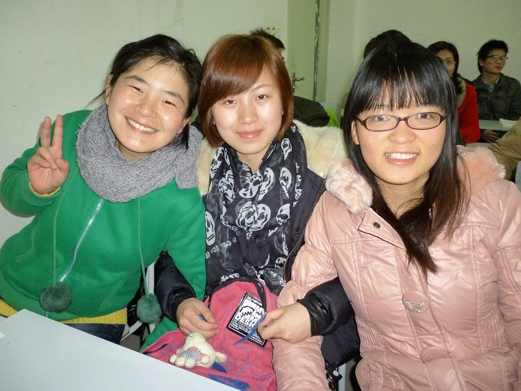 Students in China benefiting from a great lesson plan known as GANAG