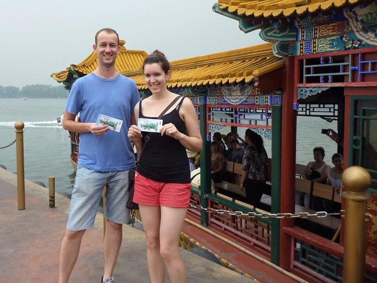 Doing touristy things is a good way of taking the stress out of teaching in China.