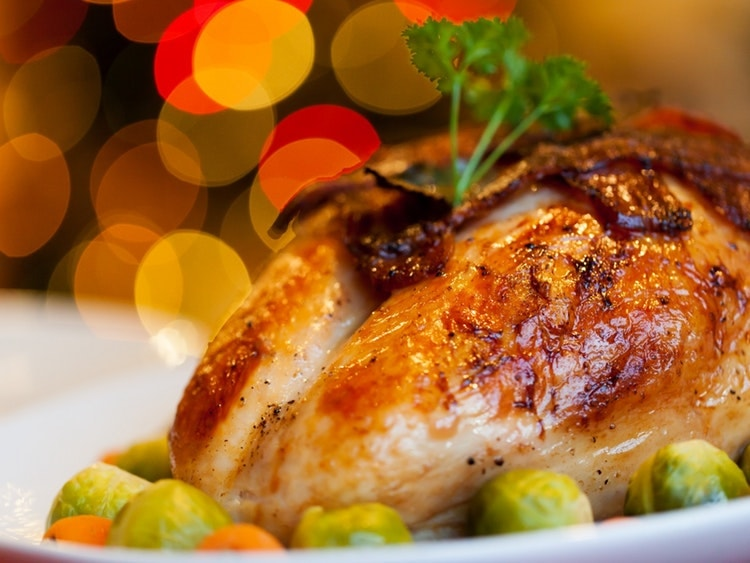 Spending Christmas alone in China can be difficult but you can find hotels that serve a traditional Christmas feast.