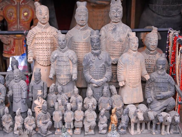 Terracotta Warriors souvenirs