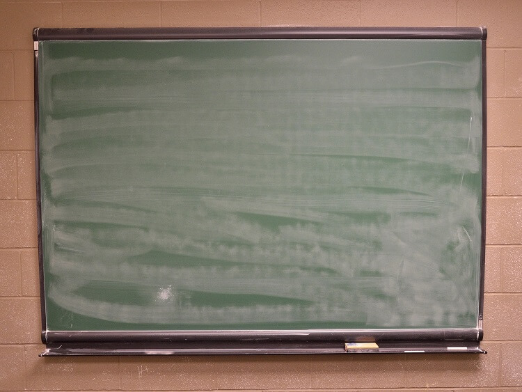 Doing lots of work on the blackboard is a secret method of teaching in China