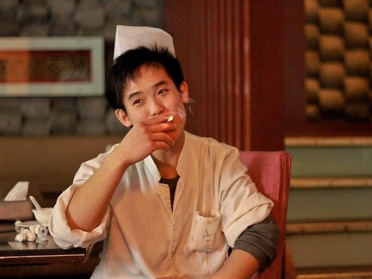 Many men in China smoke which is weird and can give you culture shock