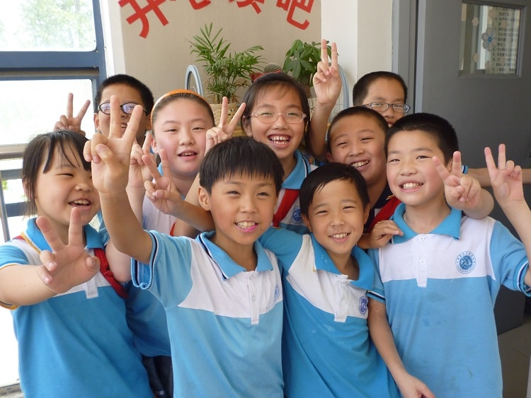 Thinking about teaching in China? You could teach these cute kids!