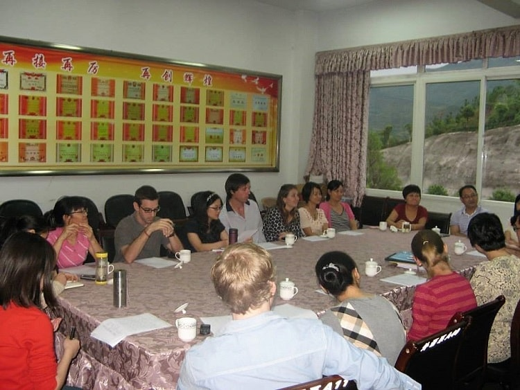 Live and teach in China and meet other foreign teachers