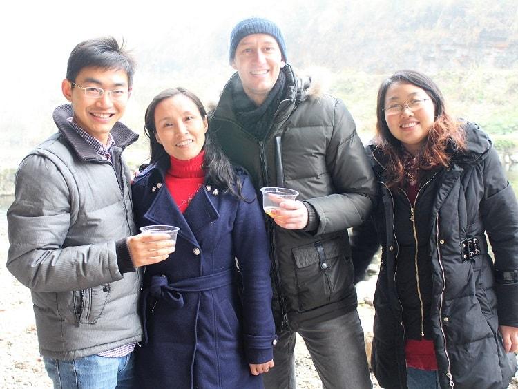 English teacher in China