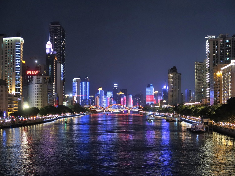 Guangzhou is a good option if you're thinking about teaching in China