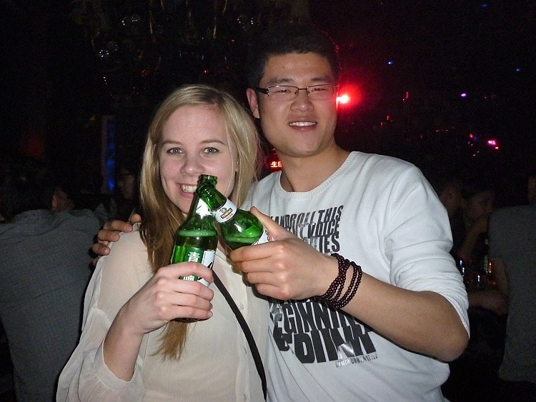 Having a photo with a stranger in China is weird but you will get used to it