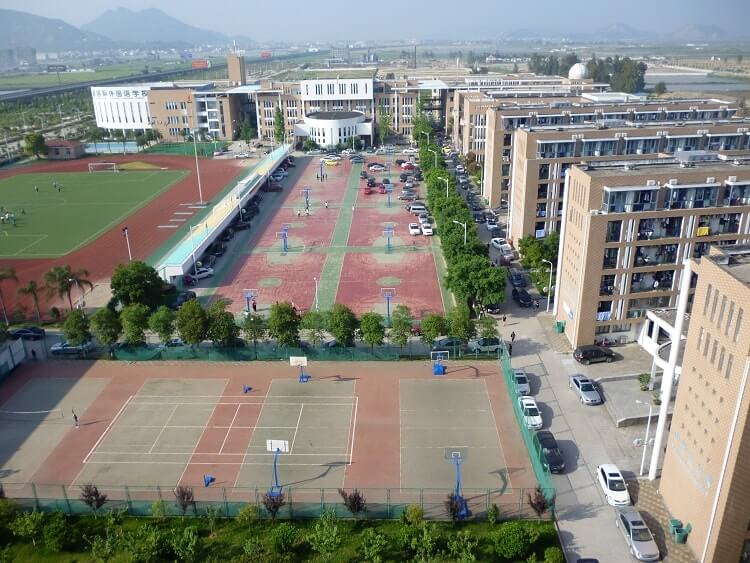 International school campus in China