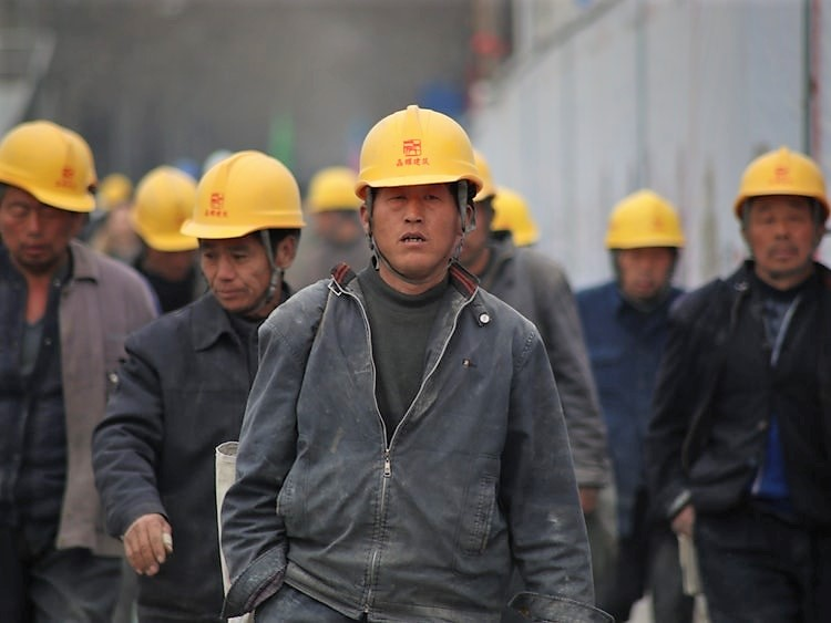 China's migrant workers return to their hometown during Chinese New Year.