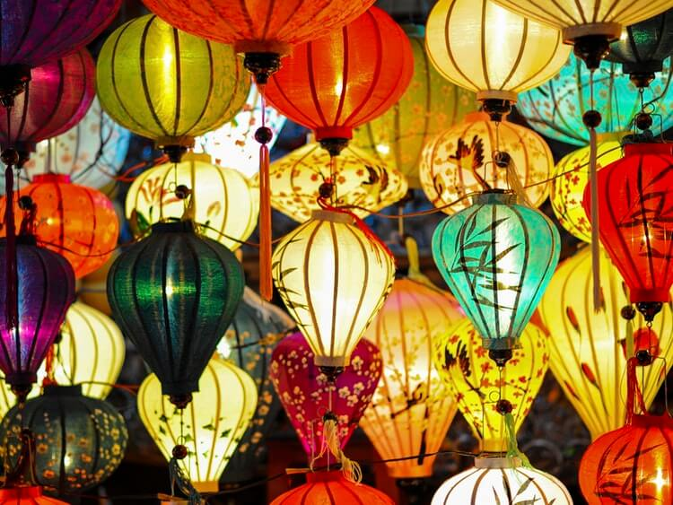 Lanterns at Mid-Autumn Festival 2018
