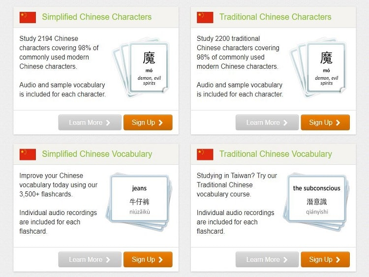 For many people flashcards are the best way to learn Chinese