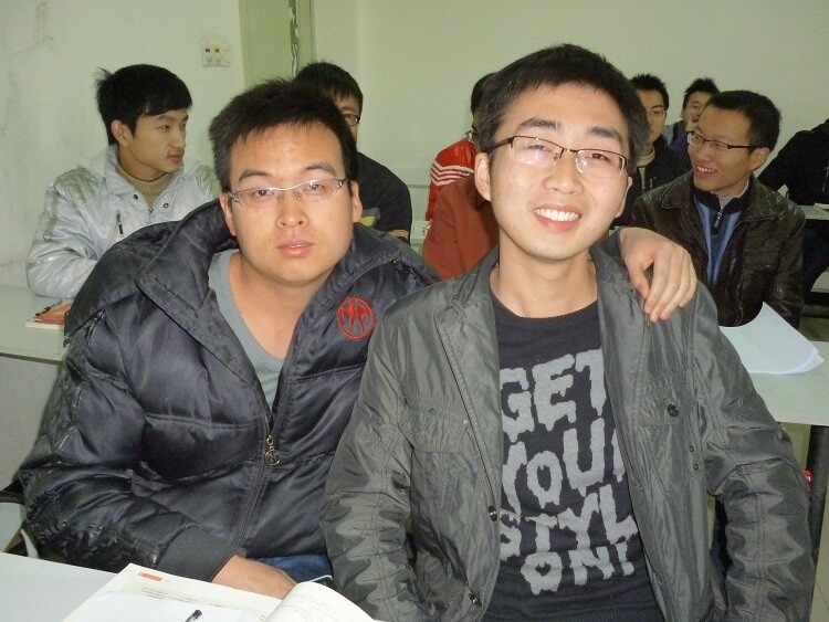 Male Chinese university students