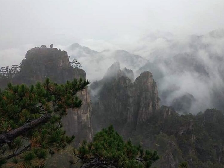 Climbing mountains is another benefit of teaching in China