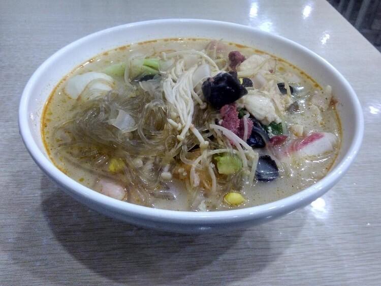 Noodles in Zhenjiang Jiangsu province