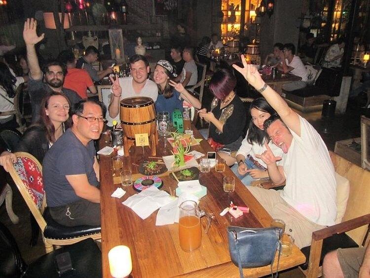 EFL teachers socializing in China