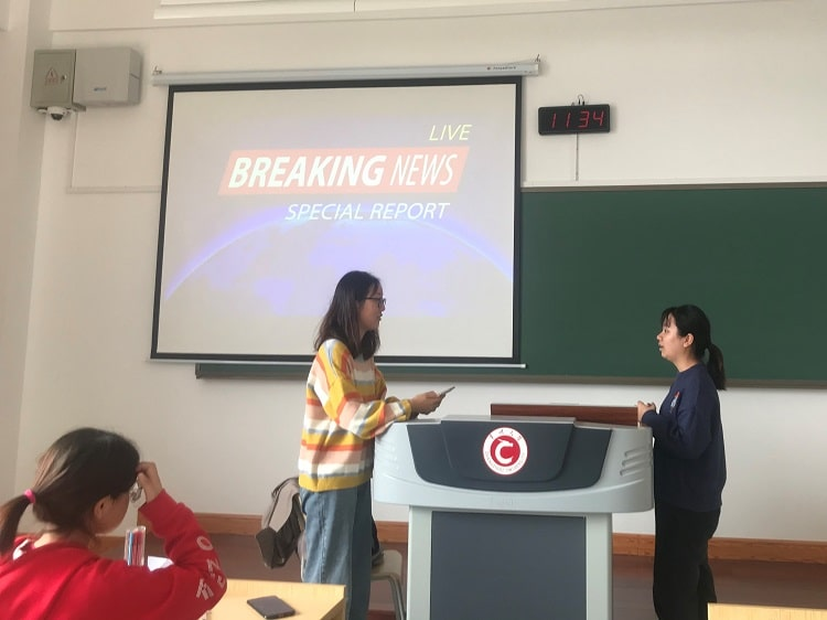 Fun activity for the Chinese university classroom