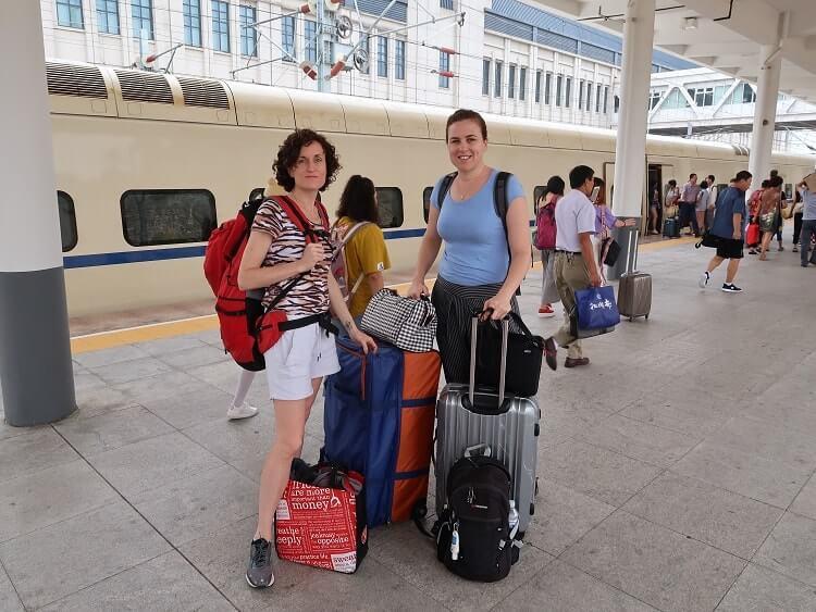 Two female English teachers China