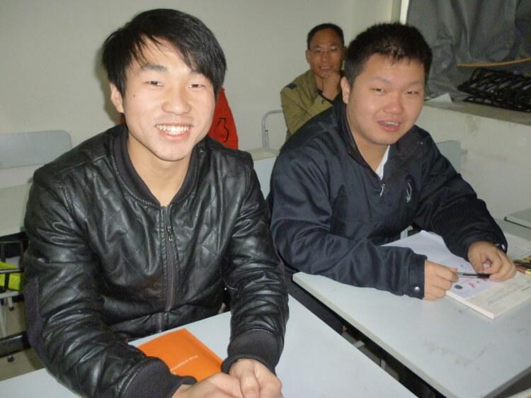 Male Chinese university students
