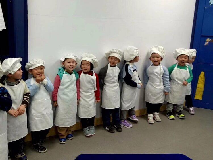 Teaching kids in Nanjing China