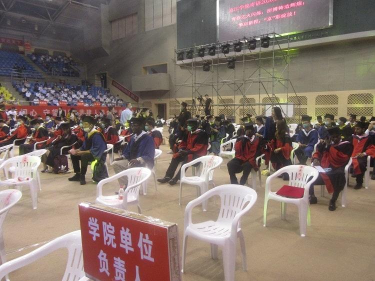 Postgraduate graduation ceremony China