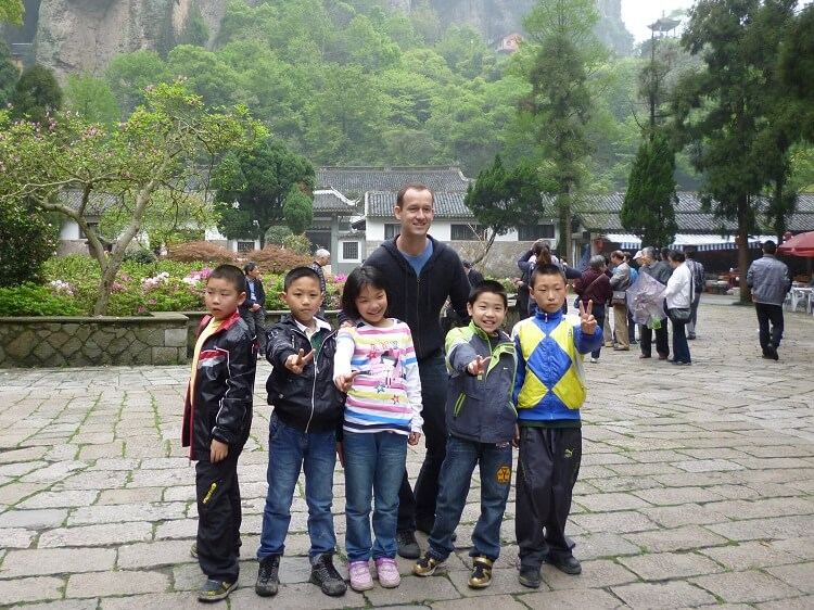 I taught in China once I got a TEFL certificate