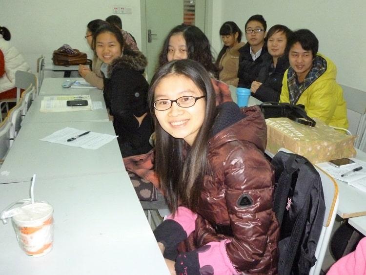 Student punishment China