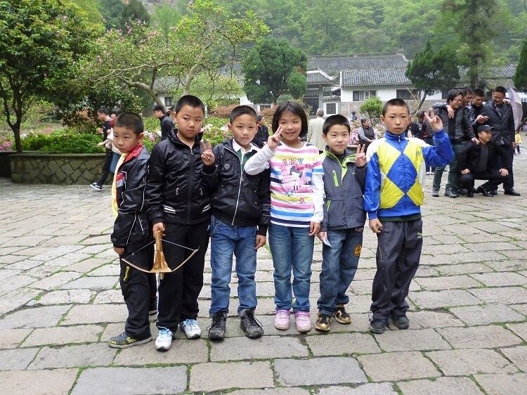Chinese primary school kids
