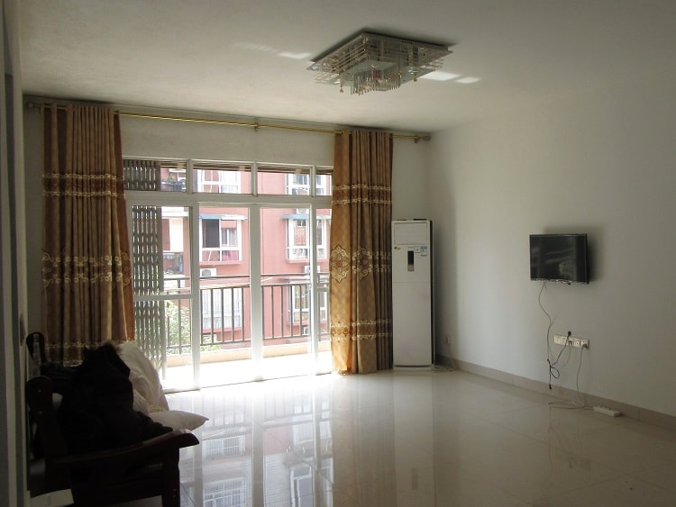You will live in a clean and simple apartment while teaching English in China