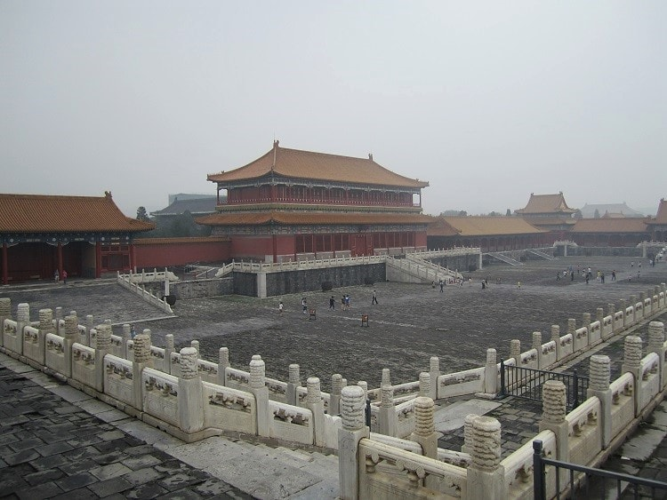 Teaching in China will give you the opportunity to visit attractions like the Forbidden City