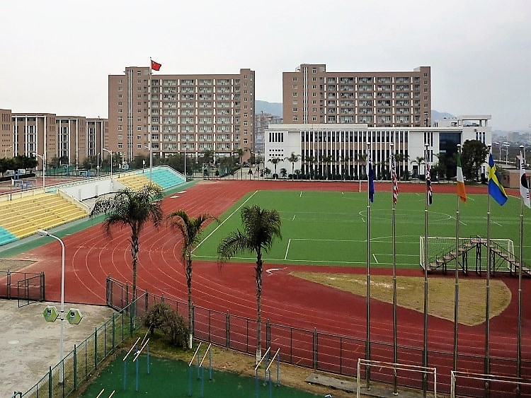 International high school in China